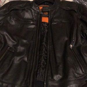 Other - Men's leather biker jacket
